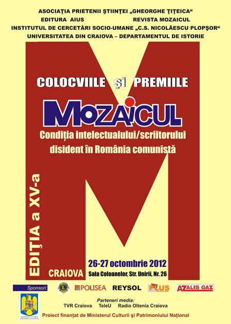 Colocviile si premiile Mozaicul - 2012