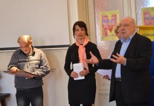 Ionel Ciupureanu, Gabriela Gheorghişor şi Nicolae Marinescu